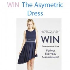 Giveaways : #WIN The Asymetric #Dress : WIN The Asymetric Dress  Time for a new #competiton! #WIN The Asymetric Dress, perfect for summer!    -Only one entry per person, any subsequent entries will not be