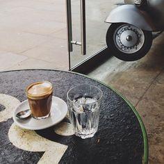 coffee at Mozzino Espress Bar in London