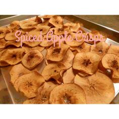 spice apple chips