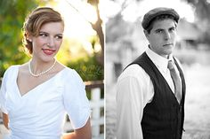 The Notebook Wedding Inspiration 1940 S Theme