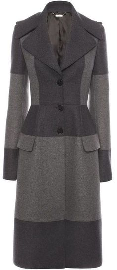 I beleive The #DuchessOfCambridge wore a custom version of this Alexander McQueen Military Coat today