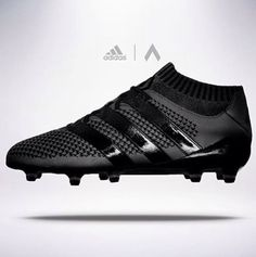 designer fashion 30d42 4497f Adidas ace primeknit black
