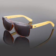 8ca531441bf New Bamboo Sunglasses Wooden Wood Men Retro Vintage Polarized Glasses  Vintage. Wood