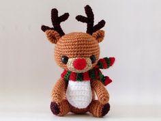 Amigurumi Reindeer Free Pattern : Rudy the reindeer free amigurumi patterns amigurumi and wordpress