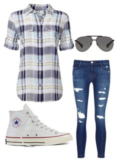 """I'm new at this"" by rickpam ❤ liked on Polyvore featuring Equipment, J Brand, Converse and Dolce&Gabbana"