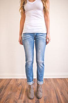 Dottie Couture Boutique - Medium Wash Ripped Skinny , $46.00 (http://www.dottiecouture.com/medium-wash-ripped-skinny/)