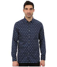 66b94b2fb14d Ted baker beastie long sleeve large spot print shirt