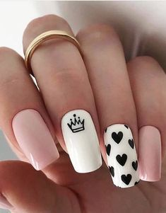 Are you ready to get the Amazing Look to make your nails more beautiful in Just Browse here and must try out this Trendy Style of Nail Designs and enhance your beauty of your finger in these days. So must try it and get the fantastic look. Acrylic Nails Coffin Short, Simple Acrylic Nails, Cute Acrylic Nail Designs, Best Acrylic Nails, Simple Nails, Coffin Nails, Edgy Nails, Classy Nails, Stylish Nails