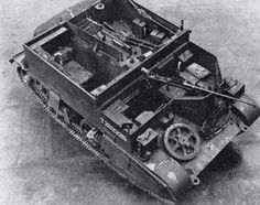 Coolness on tracks. Britain's ubiquitous universal carrier