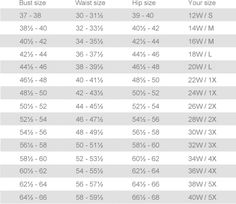 Jessica London size chart   Clothes   Pinterest   London and Charts