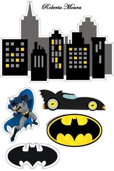 Para la pared Lego Batman Party, Superman Birthday Party, Superhero Cake, Batman Cake Topper, Batman Cakes, Third Birthday, Birthday Diy, Batman And Batgirl, Batman Wallpaper