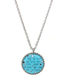 TFIOS Graphic Necklace Fell in Love by MidnightHouseElves on Etsy, $20.00
