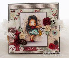 Mindy: A Christmas Magnolia Card.