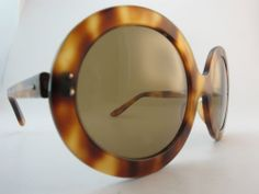 Vintage 1970s sunglasses women's large tortoiseshell effect | pretty sure I had some very similar