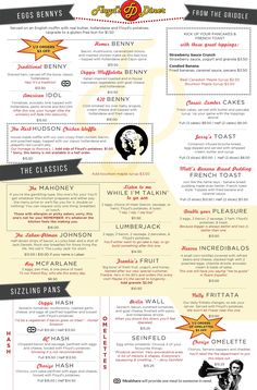 Check Out Our Sample Menu To Give You An Idea Of What To Expect