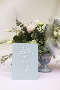 Bespoke calligraphy and handwritten stationery for weddings and events. Calligrapher based in Northern Ireland. Northern Ireland, Place Cards, Stationery, Place Card Holders, Calligraphy, Table Decorations, Collection, Home Decor, Penmanship