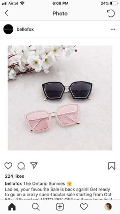 6a52d00f093f8 The 69 best Coolers images on Pinterest   Sunglasses, Girl glasses ...