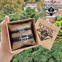ICONIC_STORE - Melinterest Colombia Bracelets For Couples, Braided Leather, Sewing Accessories, Anchors, Colombia, Woven Bracelets, Bias Tape