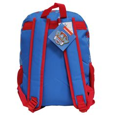 5523eb0648 Nickelodeon Paw Patrol Team Players Pawfect Team Red and Blue 16 Backpack    Click on the image for added information. (This is an affiliate link).   avengers