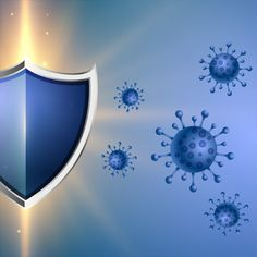Coronavirus protection shield with good immune system concept , Human Digestive System, Pharma Companies, Wall Lights, Ceiling Lights, Cute Girl Pic, Icon Set, Immune System, Vector Free, Concept