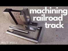 Machining Railroad Track for bending Dies - YouTube Press Brake, Metal Bending, Railroad Tracks, Heat Treating, Tools, Youtube, Instruments, Youtubers, Youtube Movies