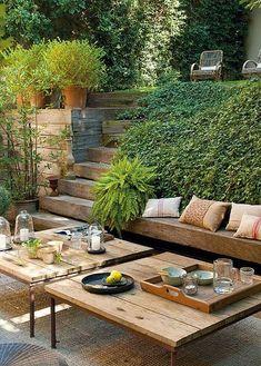 via Ayloviú | así de sencillo debe ser #verde #madera