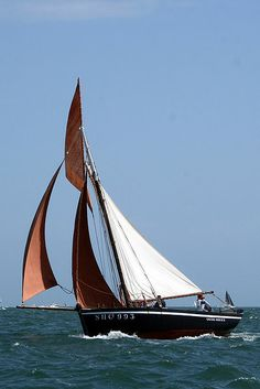 """Grand Norven"", mackerel sloop  from Piriac, South Brittany"