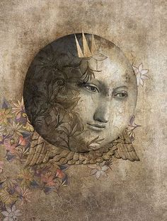 Rabbit and Moon by Gabriel Pacheco