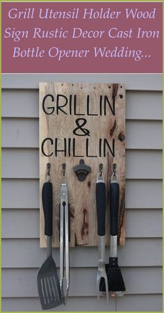 How to Make Wood Signs With Cricut Explore- Craft Tutorial: In this project we are going to show you how to use Cricut Explore to get a design of your... Wood Signs For Home, Custom Wood Signs, Easy Woodworking Projects, Custom Woodworking, Wood Turning Projects, Wood Projects, Grillin And Chillin, Building A Kitchen, Wood Scraps