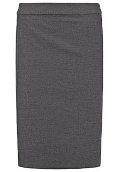 ODETTA - Jupe crayon - raven grey