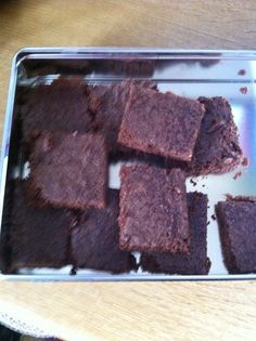 Homemade chocolate brownies :-)