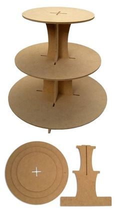 Christmas Ideas Haircut Style how to style a bob haircut at home Diy Cardboard Furniture, Cardboard Crafts, Paper Crafts, Porta Cupcake, Cupcake Tier, Cupcake Stands, Wood Projects, Woodworking Projects, 3d Laser Printer