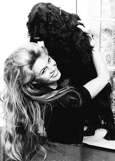Brigitte playing with Clown ♥ Beautiful ♥ Veg ♥ Animal Rights Activist ♥