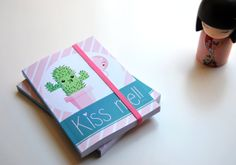 "Libreta ""Kiss me!!"" de Cutiefreak"