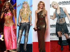 Shakira's Style Evolution: From Hip Shaking to High Class (PHOTOS)