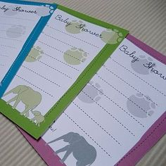 Lovely child bathe or pet love theme with paw prints on the invitations...cute!...