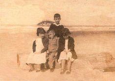 Inverno de sol na Praia Central. Com Roque, Rocio, Walter e Beatriz - Família Mafra
