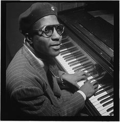 [Portrait of Thelonious Monk, Minton's Playhouse, New York, N.Y., ca. Sept. 1947] (LOC) by The Library of Congress, via Flickr
