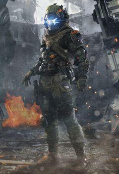 Geek Art Gallery: Concept Art: Titanfall - Militia