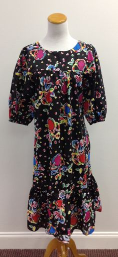California Dynasty Colorful Dress (size M)(V)