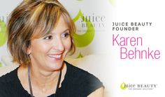 """""""We believe that caring for your skin should not prevent caring for your health or for the planet. At Juice Beauty we believe in advanced skincare solutions that harness the best of certified organic & natural ingredients to deliver clinically validated results that do not compromise your well-being nor the Earth.""""  -- Karen Behnke, Juice Beauty Founder #EarthDayEveryDay"""