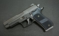 SIG Sauer P220 Dark Elite.