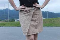 Resultado de imagem para molde de vestido transpassado