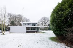 Delcourt house (1969). Richard Neutra.