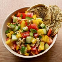 You don't have to be a vegetarian to love chef Daniel Wright's fresh fattoush.