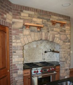 Donegal Ledgestone Veneer Kitchen