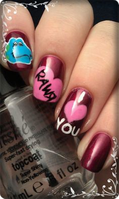 My Valentines Nail Art Make sure to check out http://www.thepolishobsessed.com for nail art, tutorials, giveaways and more!