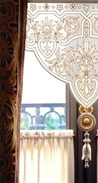 classical window treatment