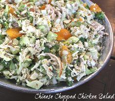 Chinese Chopped Chicken Salad...