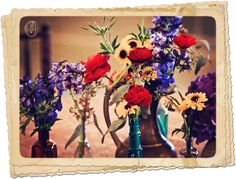 Holly-Hedge-Estate-Vintage-Rustic-Brass-Teapot-Bud-Vase-Wildflower-Burlap-Budget-Floral-Centerpiece-Oleander-New-Jersey-Bucks-County-Wedding-Florist-Floral-Design